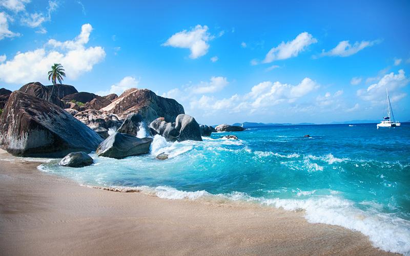 Baths of Virgin Gorda Carnival Cruises Caribbean