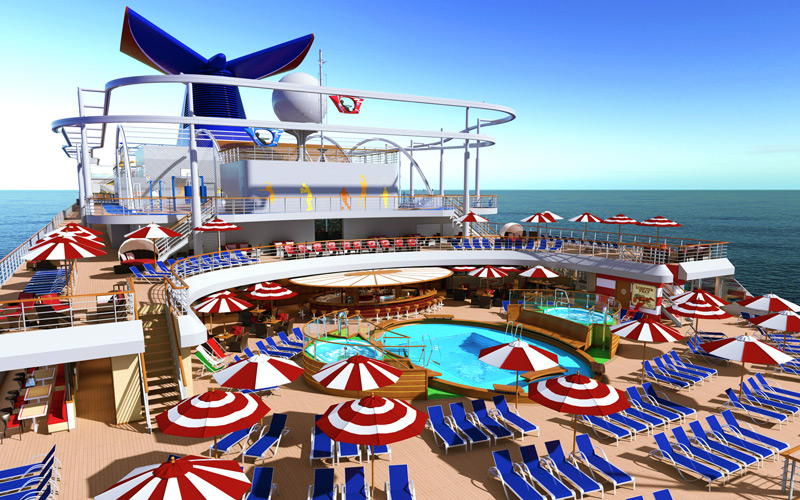 Carnival Horizon Aft Pool Rendering