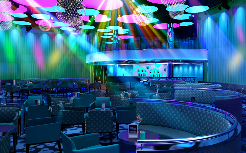 Carnival Horizon Liquid Lounge Rendering