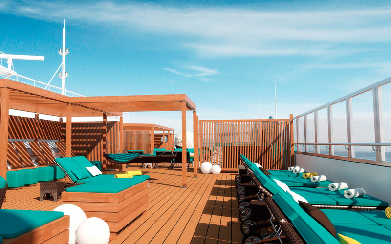 Carnival Radiance Serenity Retreat