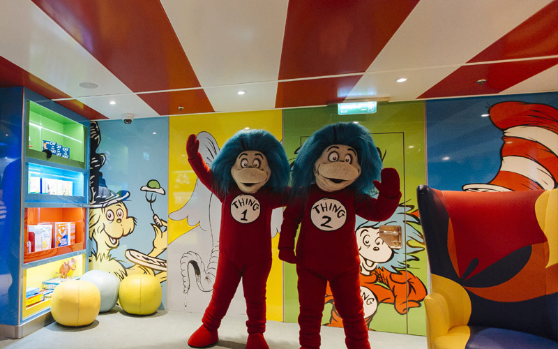 Seuss at Sea on Carnival Radiance