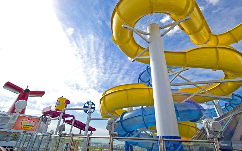 Carnival Radiance WaterWorks aqua park