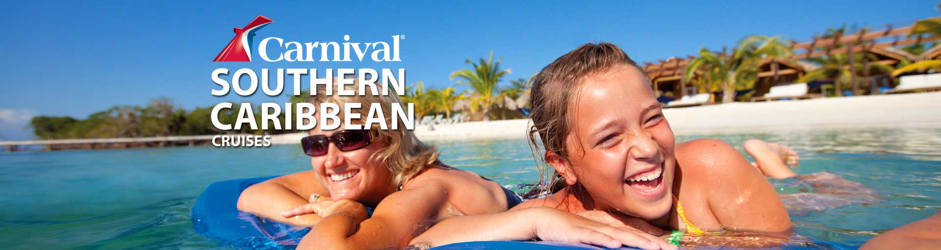 Carnival Cruise Lines Southern Caribbean Cruises