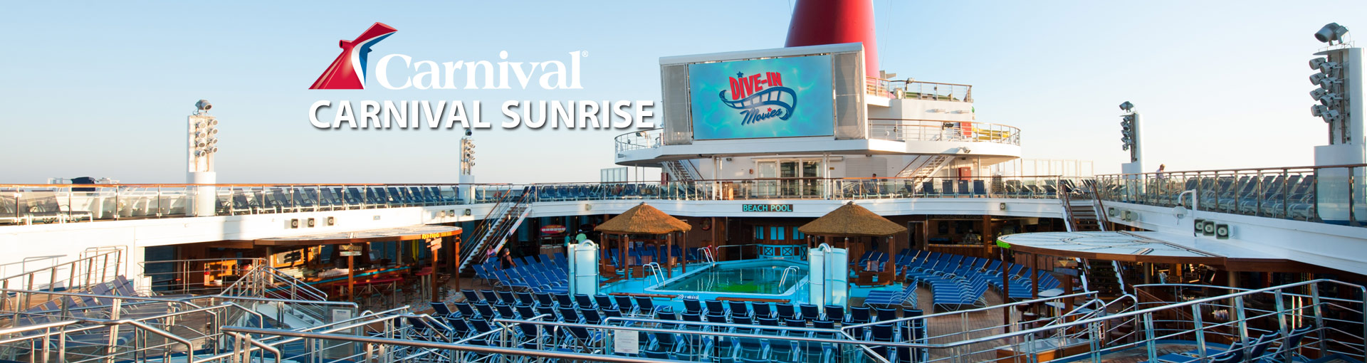 Banner for Carnival Sunrise cruise ship