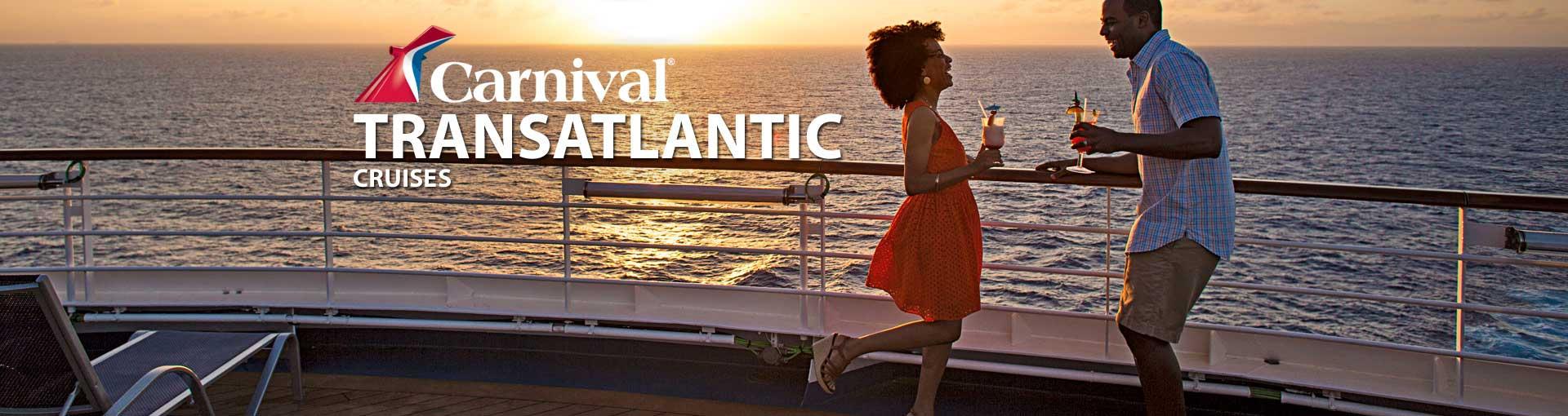 Carnival Cruise Lines Transatlantic Cruises