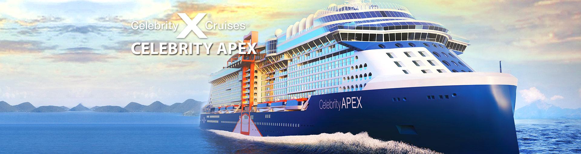 Celebrity Cruises Celebrity Apex Cruise Ship, 2020 and 2021