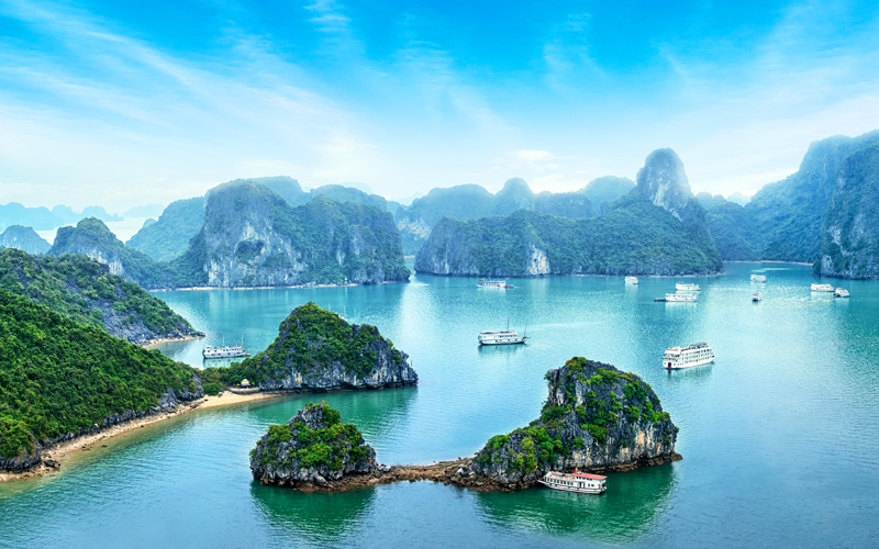 Ha Long Bay, Vietnam Celebrity Cruises