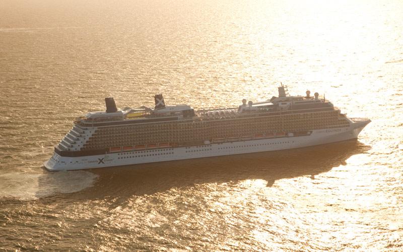 Celebrity Cruise Line Celebrity Equinox exterior