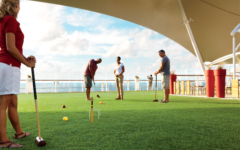 Celebrity Cruise Line Celebrity Equinox Lawn Club
