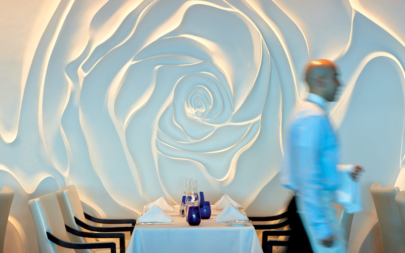Celebrity Cruise Line Celebrity Equinox Rose Wall