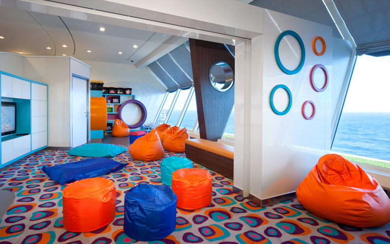 Celebrity Cruise Line Celebrity Infinity Kids Club