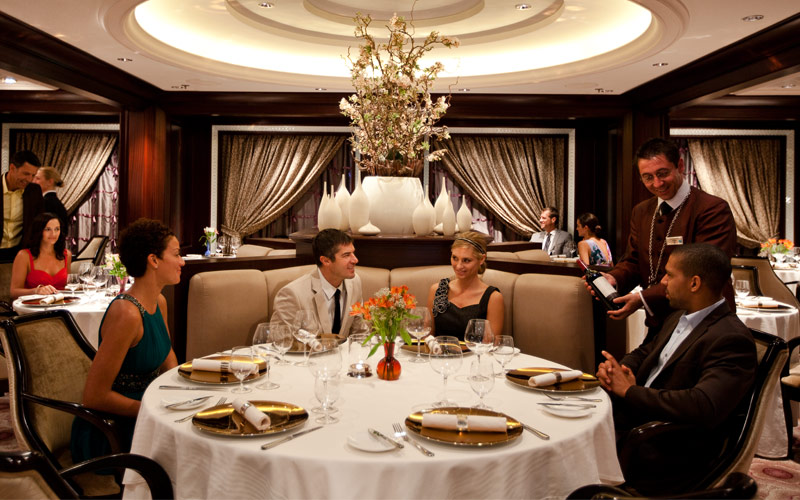 Celebrity Silhouette Dining: Restaurants & Food on Cruise ...