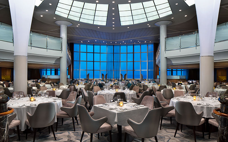 Metropolitan Restaurant aboard Celebrity Summit
