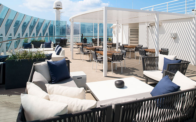 Retreat Sun Deck aboard Celebrity Summit
