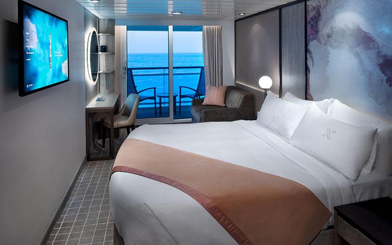 Veranda Stateroom aboard Celebrity Summit