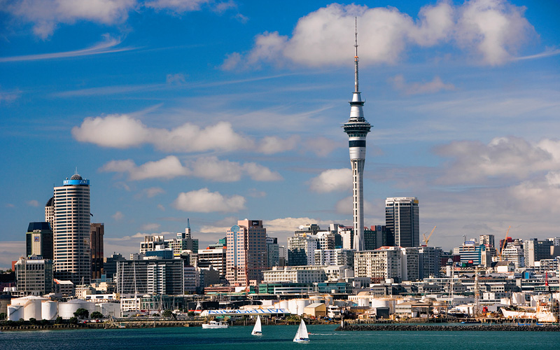 Auckland Harbour Celebrity Cruises New Zealand