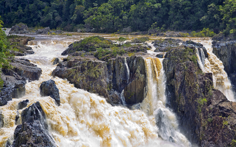 Barron Falls Queensland Celebrity Cruises