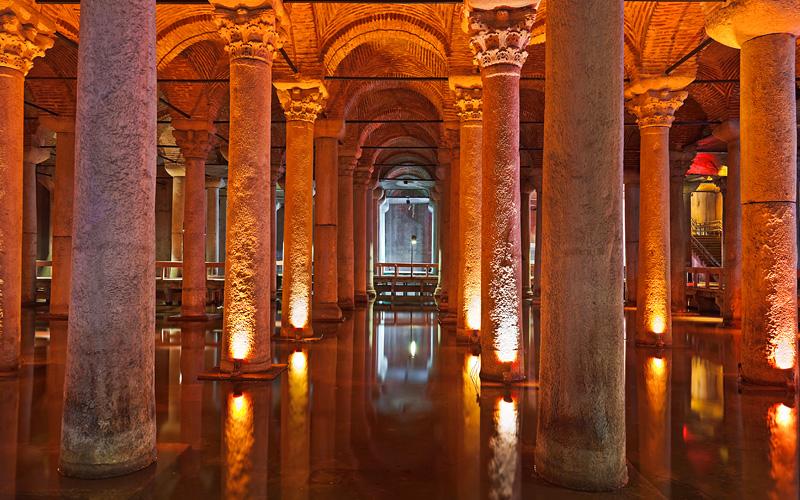 Basilica Cistern Istanbul Turkey Celebrity Cruises