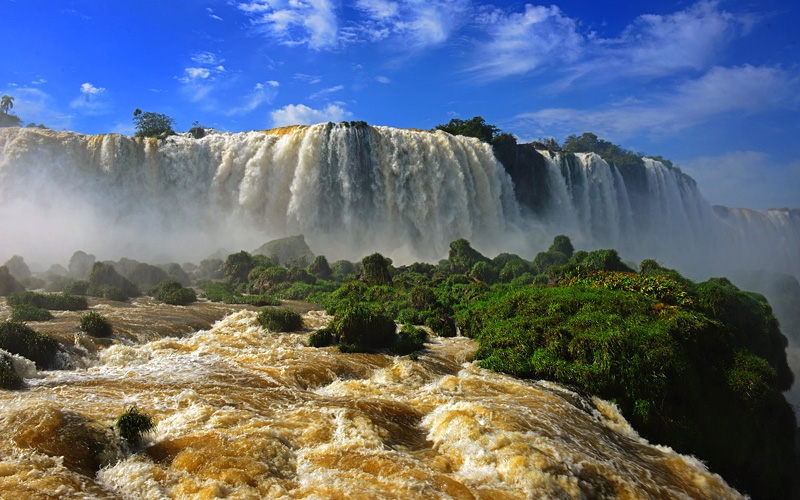 Iguazu Falls Celebrity Cruises South America
