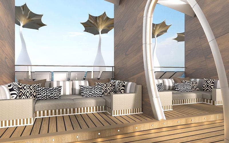 Cabanas aboard Celebrity Edge