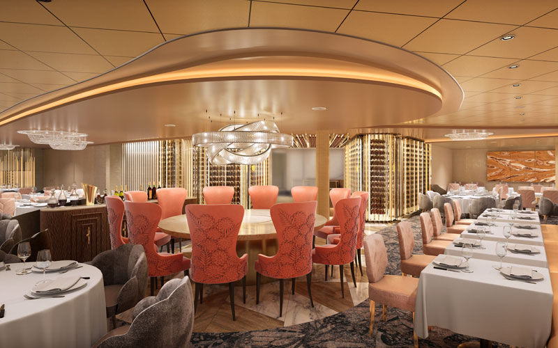 Cosmopolitan Restaurant on Celebrity Edge