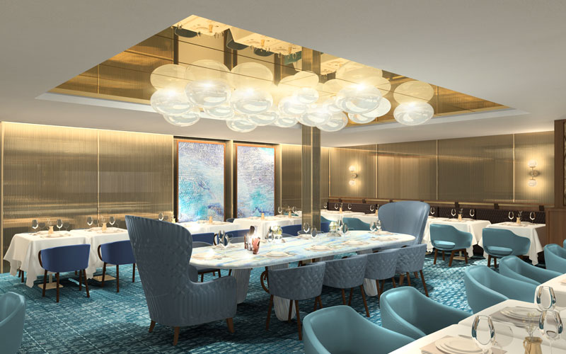 Cyprus Restaurant on Celebrity Edge