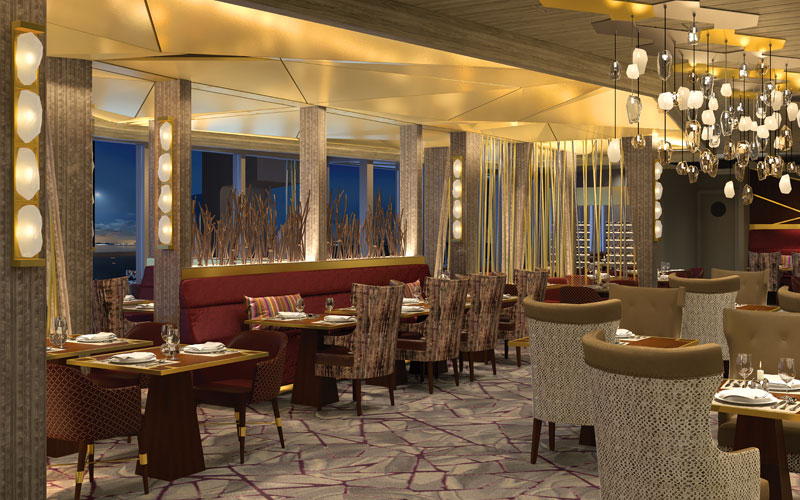Fine Cut Steakhouse aboard Celebrity Edge