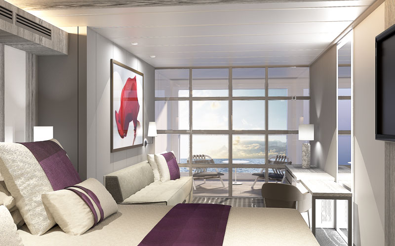 Infinite Veranda on Celebrity Edge, shut