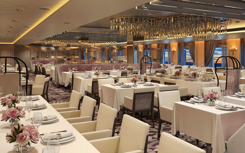 Normandie Restaurant on Celebrity Edge