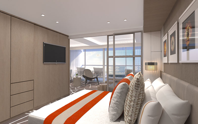 Suite on Celebrity Edge