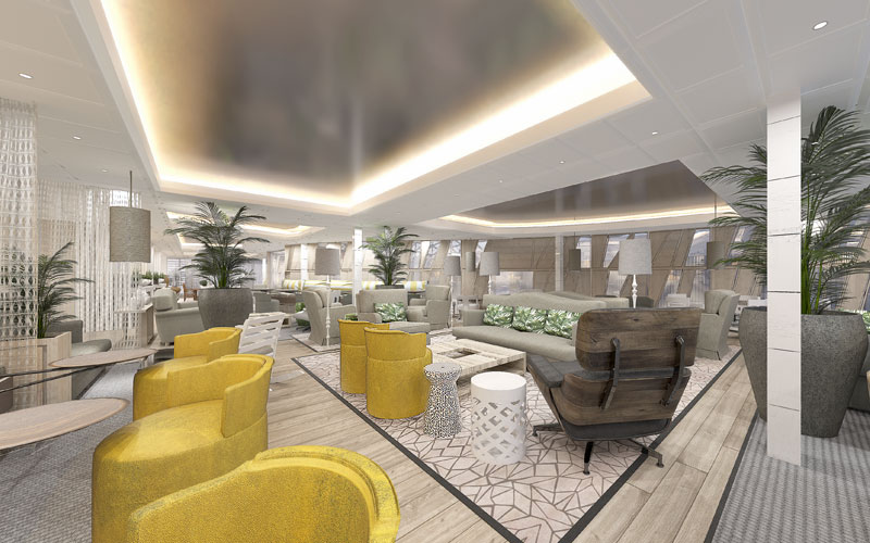 Suite Lounge on Celebrity Edge