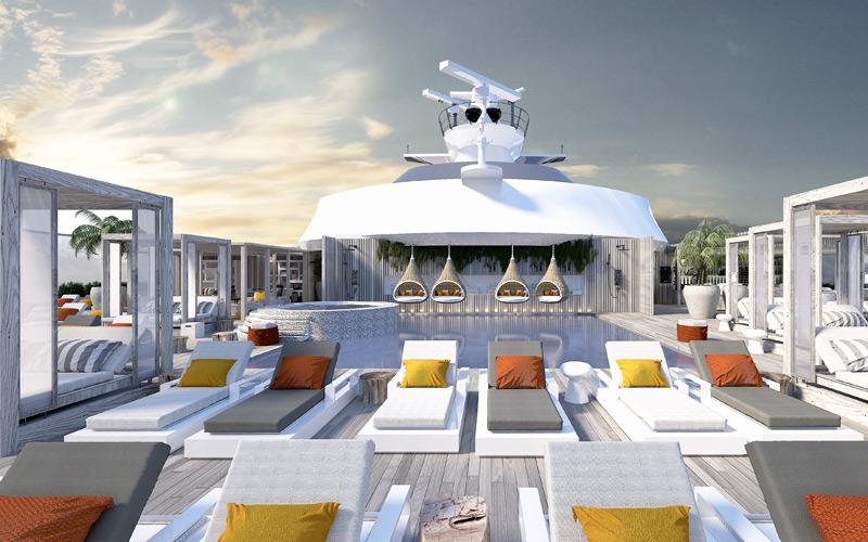 Sun Deck aboard Celebrity Edge
