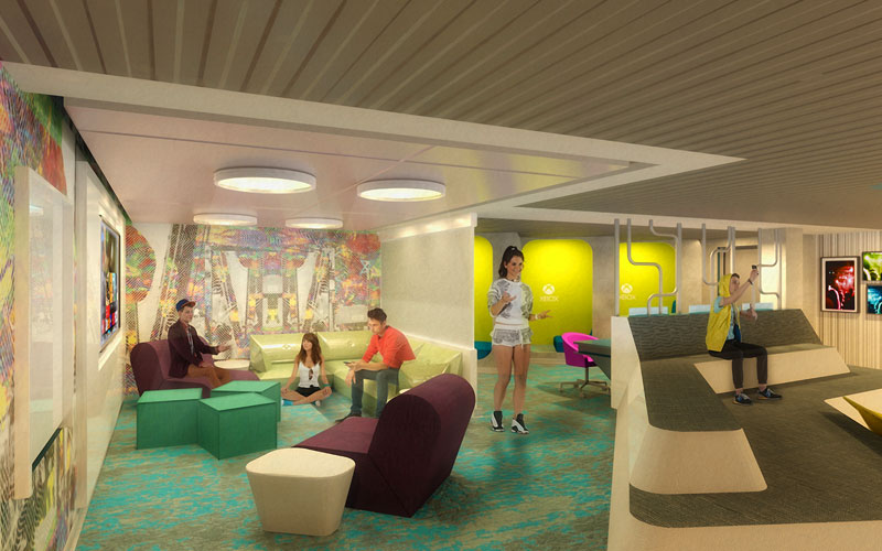 Teens Club aboard Celebrity Edge