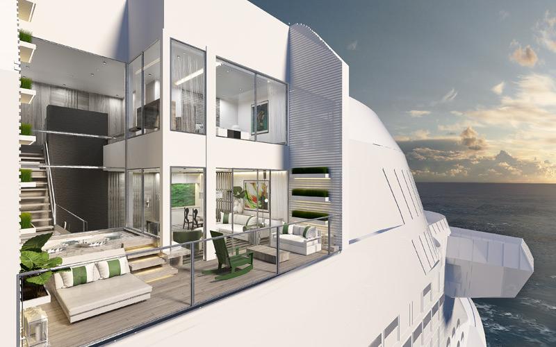 Villa aboard Celebrity Edge