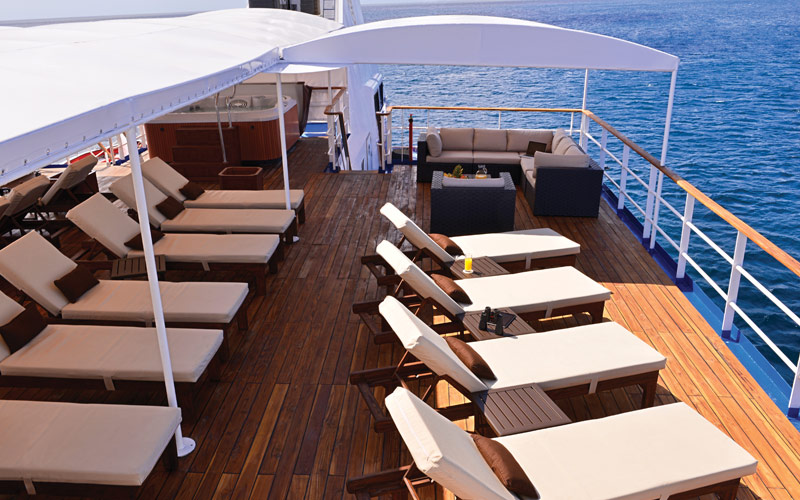 Celebrity Xperience Sun Deck