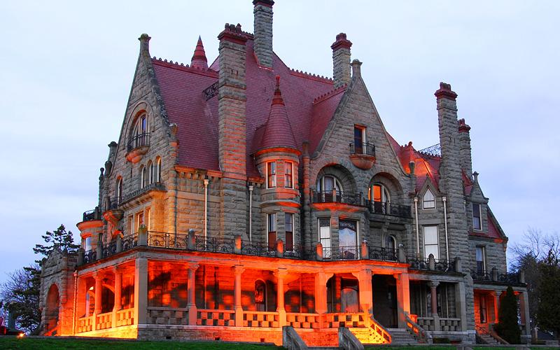 Craigdarroch Castle Victoria BC Celebrity Cruises
