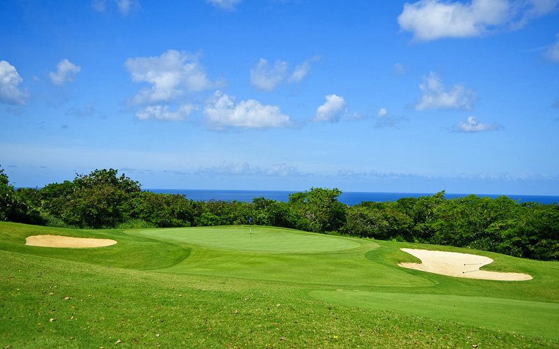 Barbados golf course Celebrity Cruises Caribbean