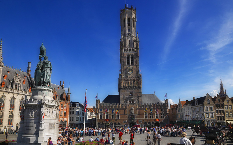 Market Square in Belgium Celebrity Cruises Europe