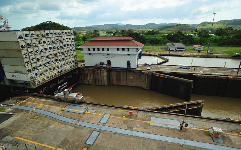 Miraflores Locks Panama Canal Celebrity Cruises