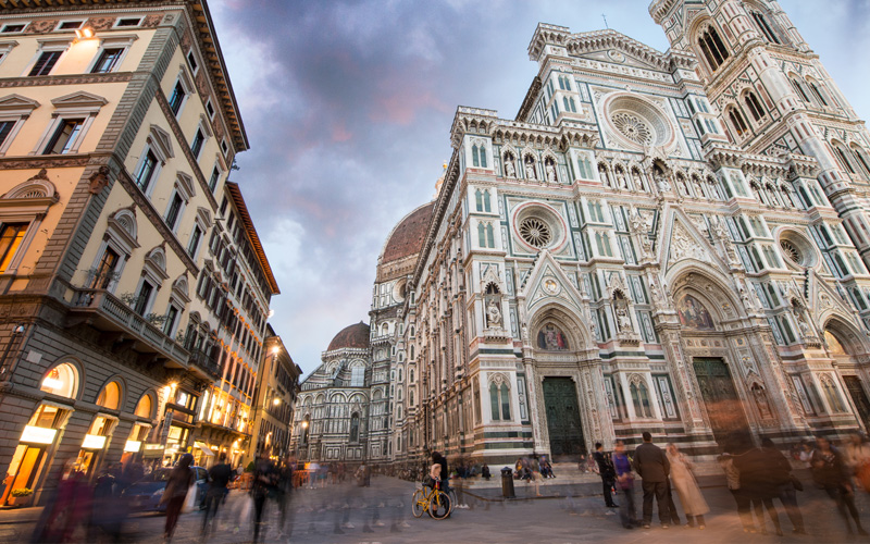 Piazza del Duomo Florence, Italy Celebrity Cruises