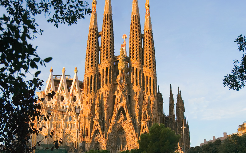 Sagrada Familia, Barcelona Celebrity Cruises Medit