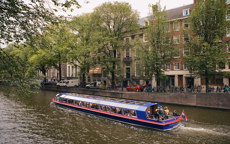 Amsterdam canal boat ride Celebrity Cruises