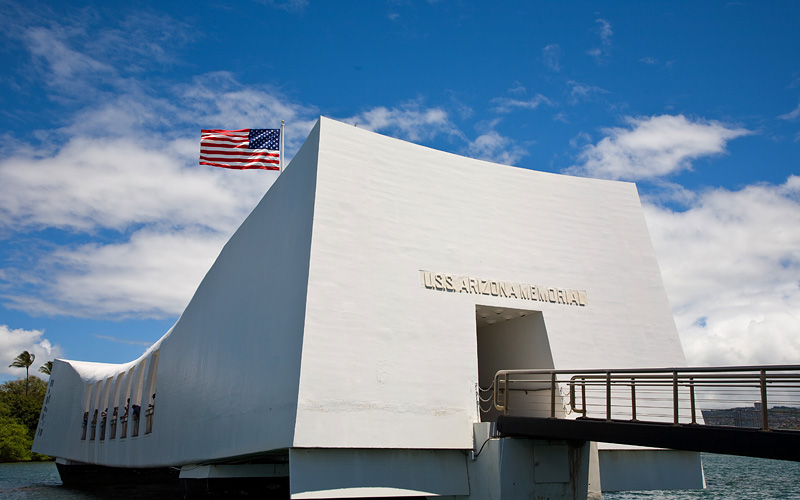 USS Arizona, Pearl Harbor Celebrity Cruises