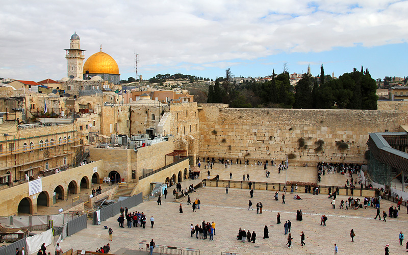 Wailing Wall in Jerusalem Israel Celebrity Cruises