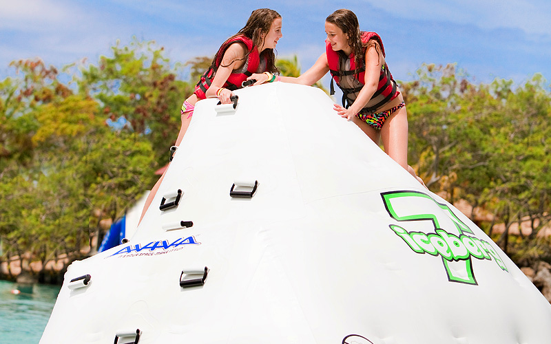 Bahamas interactive water park Celebrity Cruises