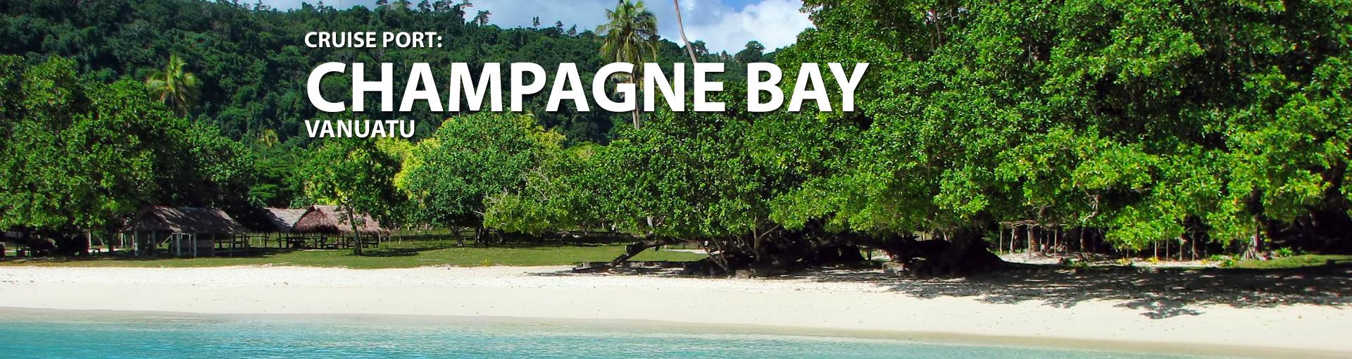 Champagne Bay, Vanuatu cruise port