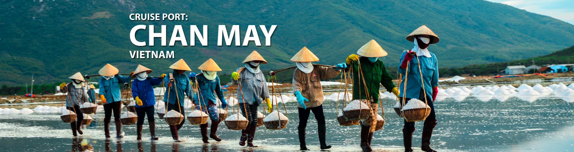 Cruises to Chan May, Vietnam