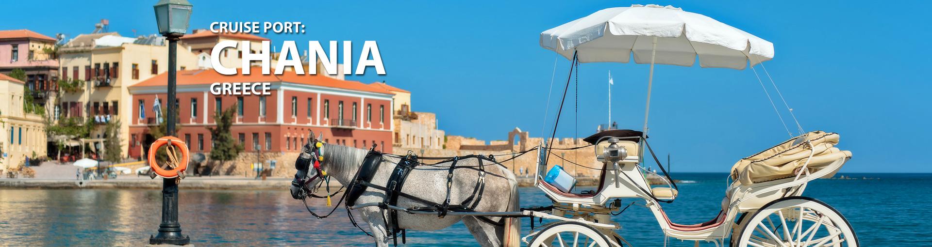 Cruises to Chania, Greece