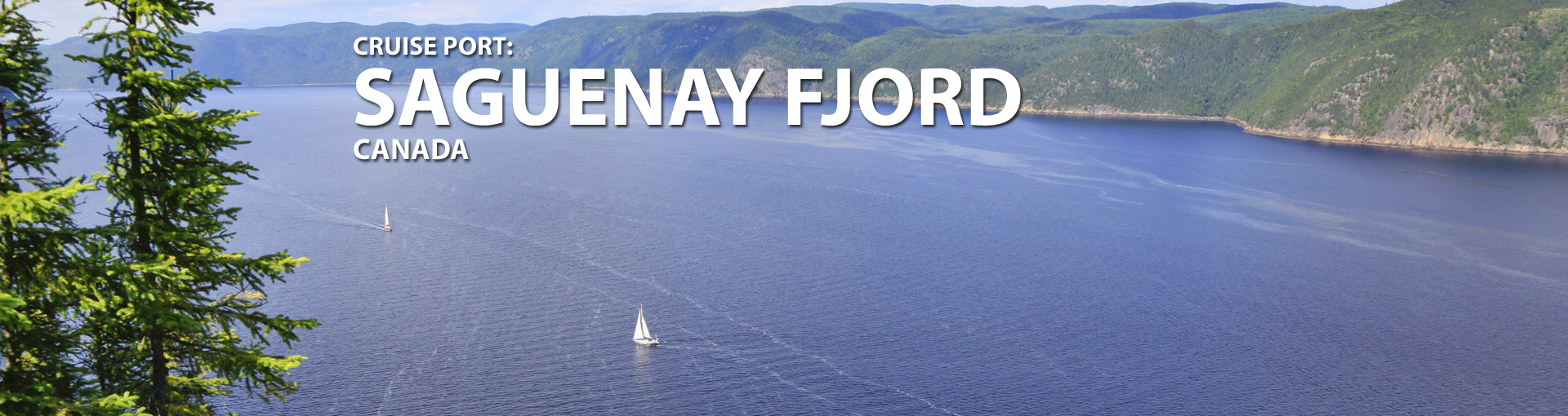 Cruises to Saguenay Fjord, Canada