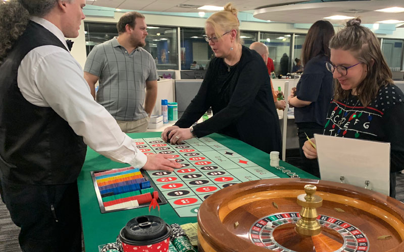 Casino Night at The Cruise Web